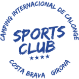 Logotipo de Sports Club de Camping internacional de Calonge.