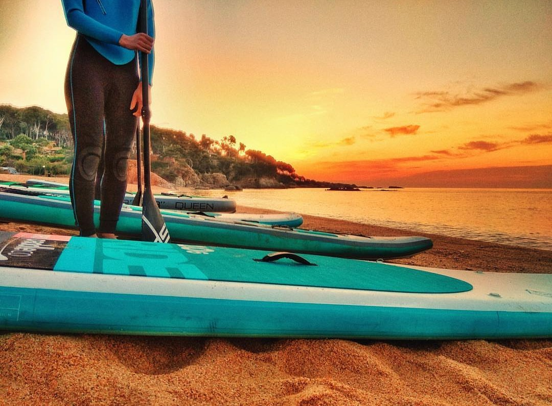 paddlesurf en Camping Internacional de Calonge