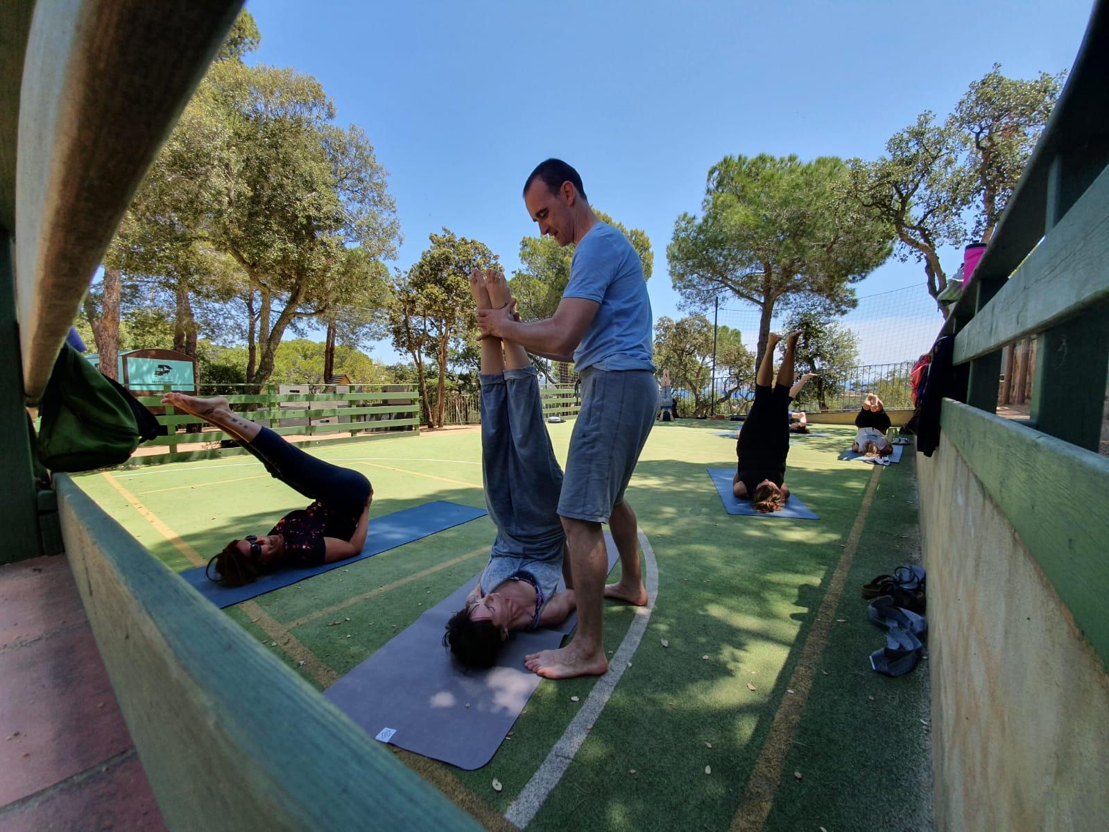 Yoga Camping Internacional de Calonge